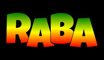 Raba mango logo