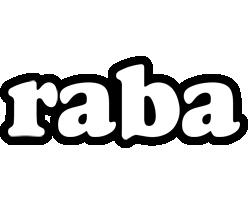 Raba panda logo