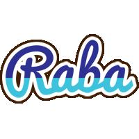 Raba raining logo