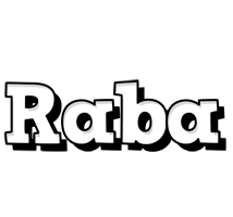 Raba snowing logo