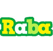 Raba soccer logo