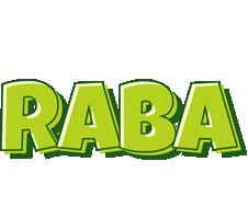 Raba summer logo