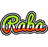 Raba superfun logo