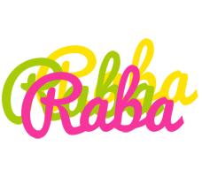 Raba sweets logo