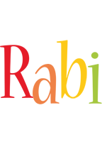Rabi birthday logo
