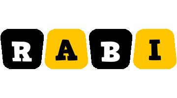 Rabi boots logo
