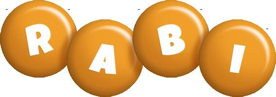Rabi candy-orange logo