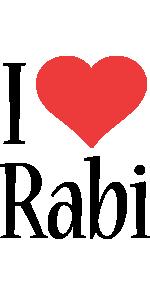 Rabi i-love logo