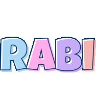 Rabi pastel logo