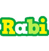 Rabi soccer logo