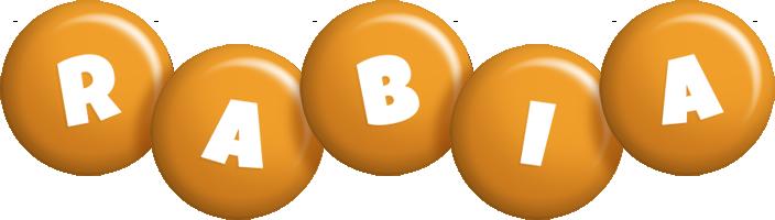 Rabia candy-orange logo