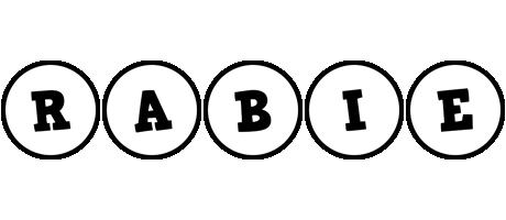 Rabie handy logo