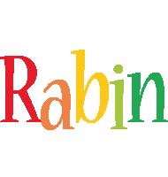 Rabin birthday logo