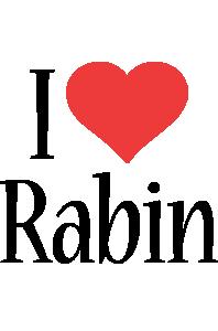 Rabin i-love logo