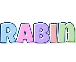 Rabin pastel logo