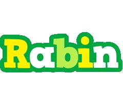 Rabin soccer logo