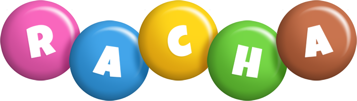 Racha candy logo