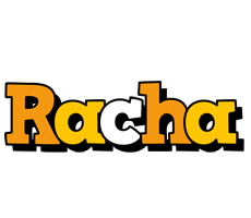 Racha cartoon logo