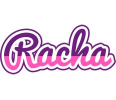Racha cheerful logo