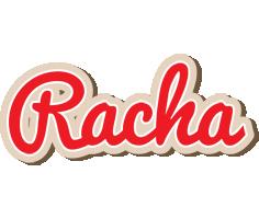 Racha chocolate logo