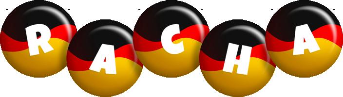 Racha german logo