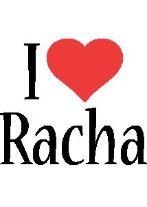 Racha i-love logo