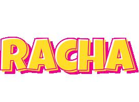 Racha kaboom logo