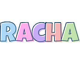 Racha pastel logo