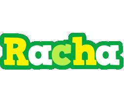 Racha soccer logo