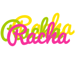 Racha sweets logo