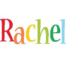 Rachel birthday logo