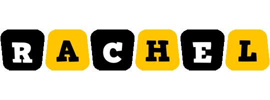 Rachel boots logo