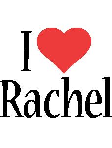 Rachel i-love logo