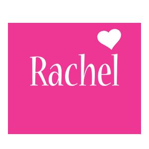 Rachel love-heart logo