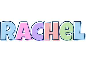 rachel logo name logo generator candy pastel lager bowling