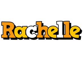 Rachelle cartoon logo
