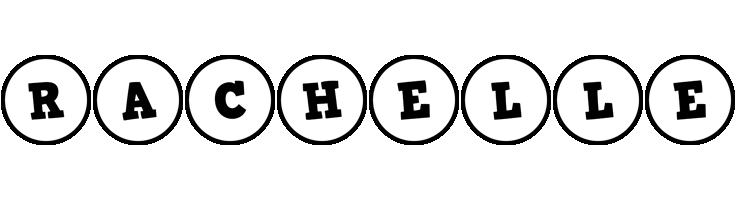 Rachelle handy logo