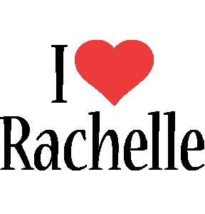 Rachelle i-love logo