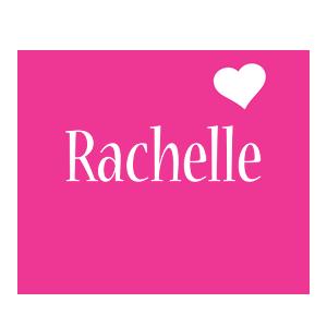 Rachelle love-heart logo