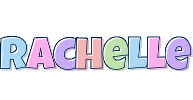 Rachelle pastel logo