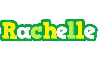 Rachelle soccer logo