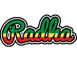 Radha african logo