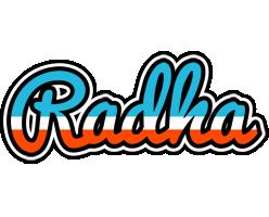 Radha america logo