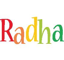 Radha birthday logo