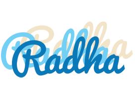 Radha breeze logo