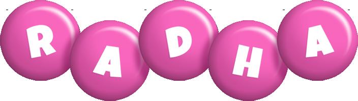 Radha candy-pink logo