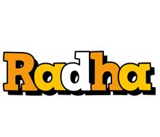 Radha cartoon logo