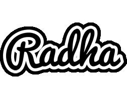 Radha chess logo