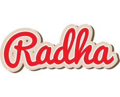 Radha chocolate logo