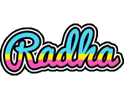 Radha circus logo